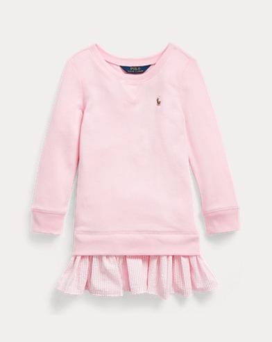 Cotton-Blend-Terry Dress