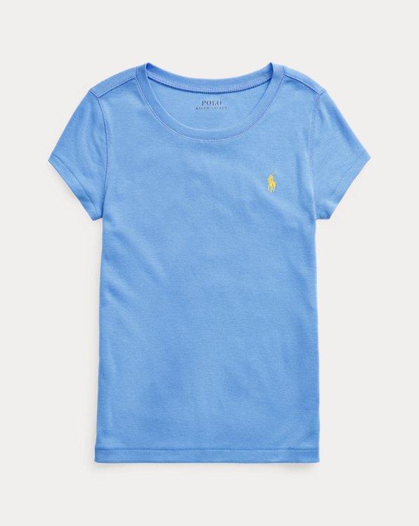 폴로 랄프로렌 Polo Ralph Lauren Cotton-Modal Tee,Harbor Island Blue