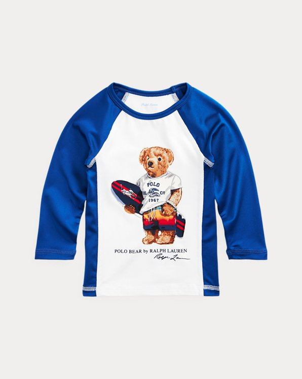 Polo Bear Stretch Rash Guard