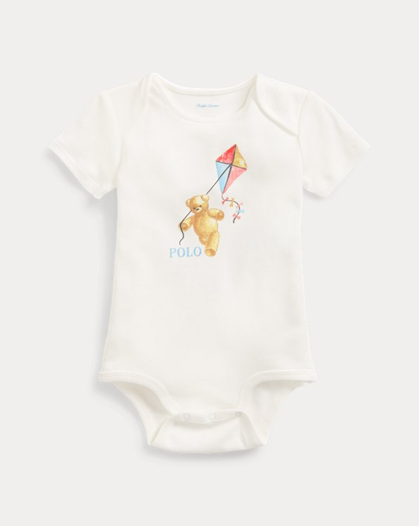 Kite Bear Cotton Bodysuit