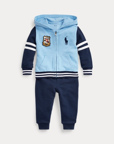 French Terry Hoodie & Trouser Set
