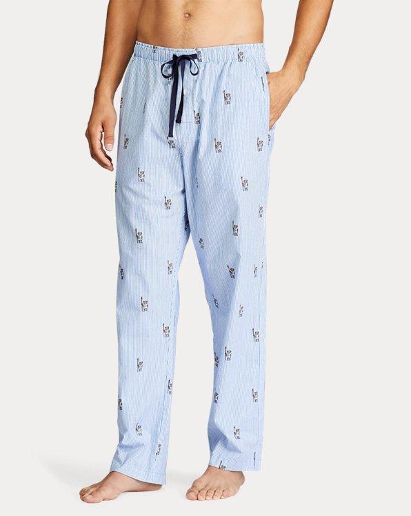 Polo Bear & Crest Pajama Pant