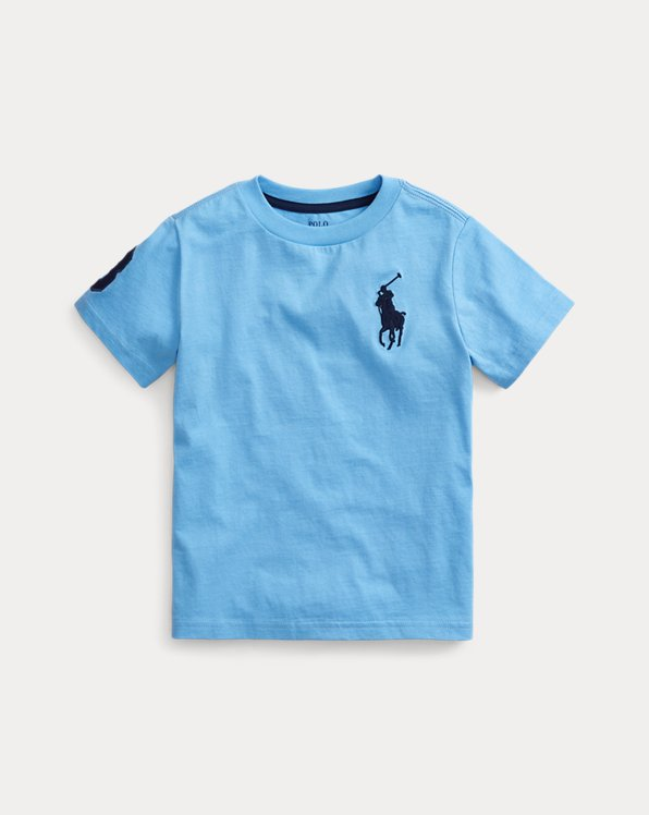 T-shirt Big Pony en jersey de coton