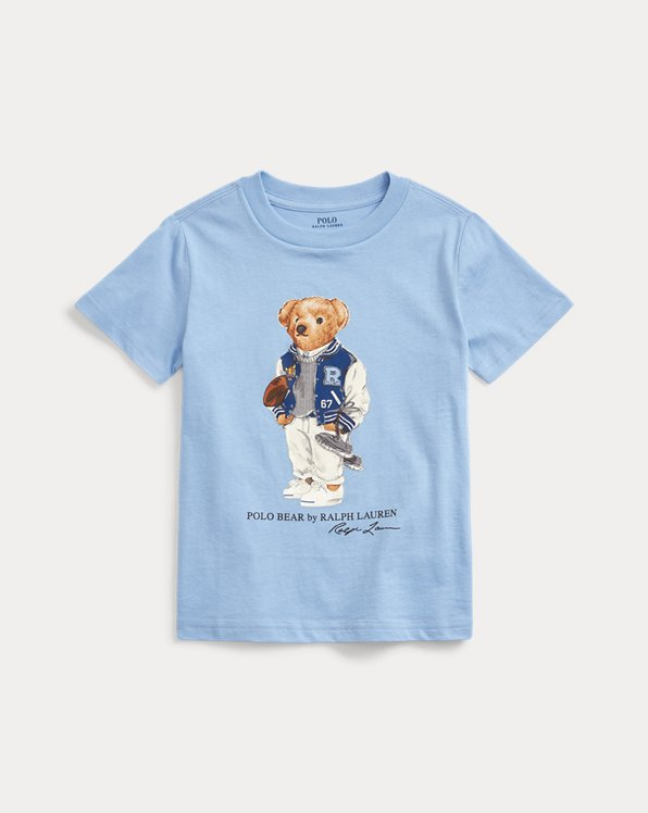 T-shirt ourson footballeur en coton