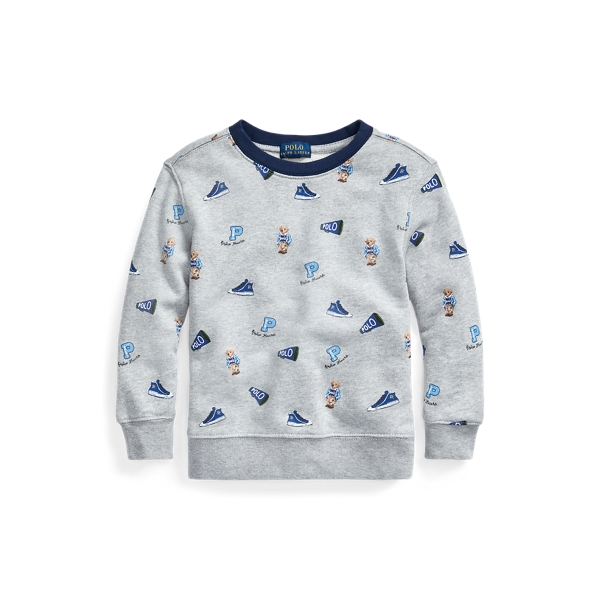 폴로 랄프로렌 Polo Ralph Lauren Polo Bear Cotton Sweatshirt,Andover Heather