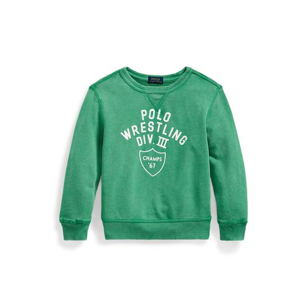 폴로 랄프로렌 Polo Ralph Lauren Cotton French Terry Sweatshirt,Raft Green
