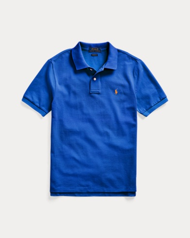 폴로 랄프로렌 보이즈 폴로셔츠 Polo Ralph Lauren Cotton Mesh Polo Shirt,Travel Blue
