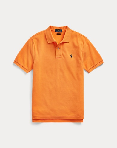 폴로 랄프로렌 보이즈 폴로셔츠 Polo Ralph Lauren Cotton Mesh Polo Shirt,Thai Orange