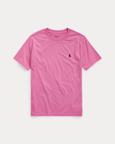 폴로 랄프로렌 보이즈 티셔츠 Polo Ralph Lauren Cotton Jersey Crewneck Tee,Resort Rose