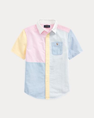 Camicia Oxford in cotone