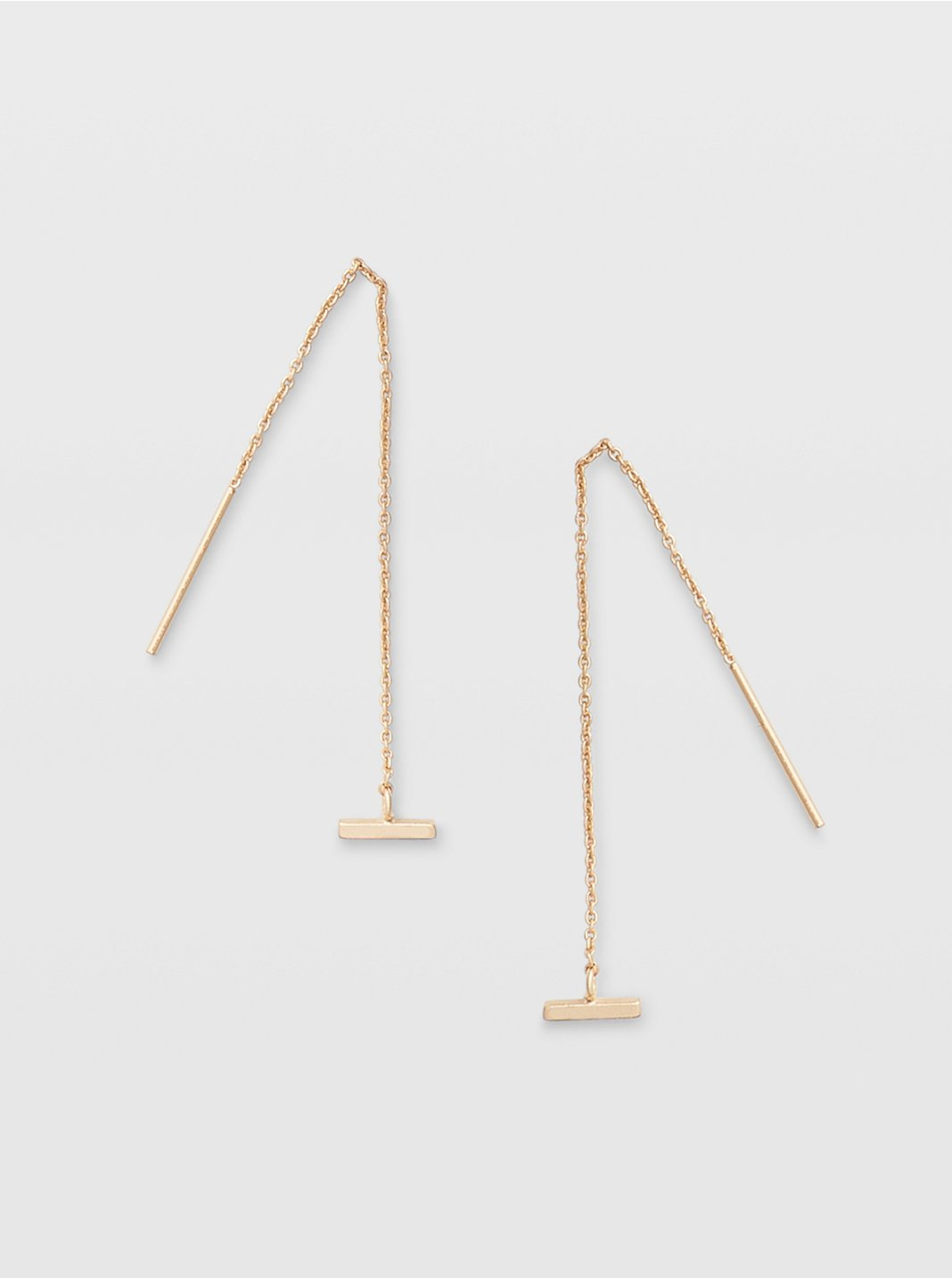 Bar Threader Earring
