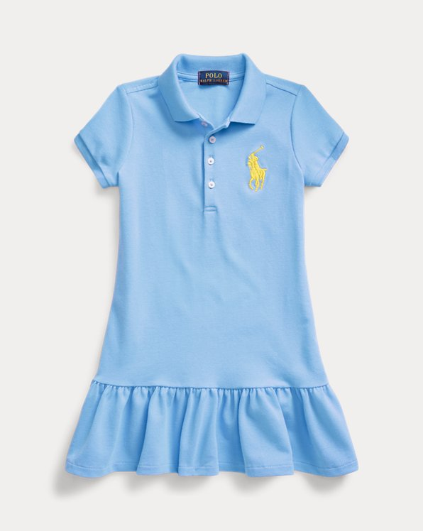 Robe polo Big Pony en piqué
