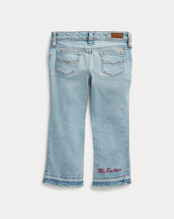Cropped Flare Denim Jean