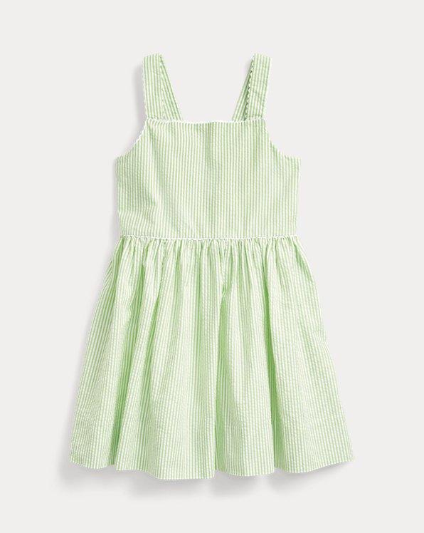 Cotton Seersucker Dress