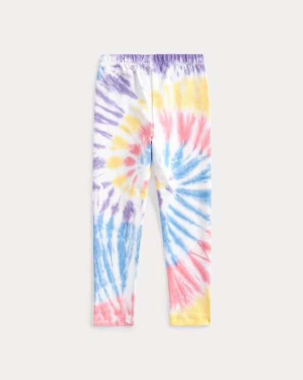 Tie-Dye Stretch Jersey Legging
