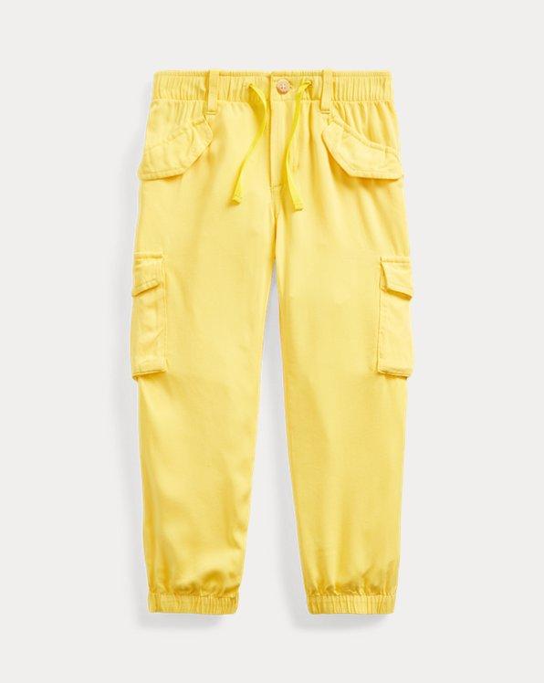 Pantalon de jogging cargo en sergé