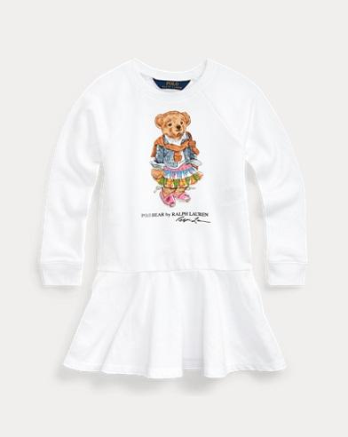 Madras Bear Terry Dress