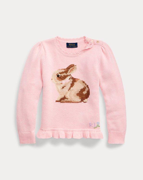 Bunny Cotton-Wool Sweater