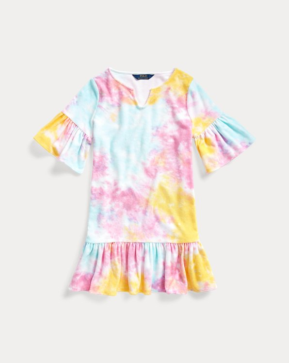 Tie-Dye Terry Cover-Up