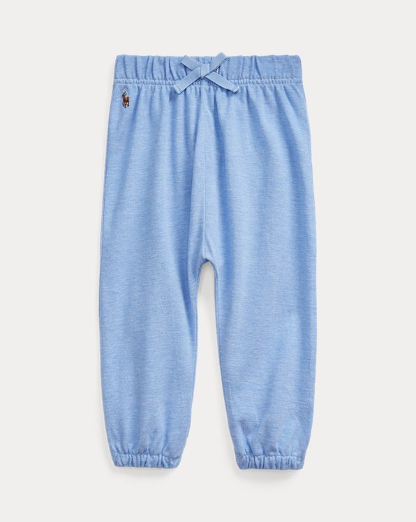 Cotton Mesh Pull-On Pant