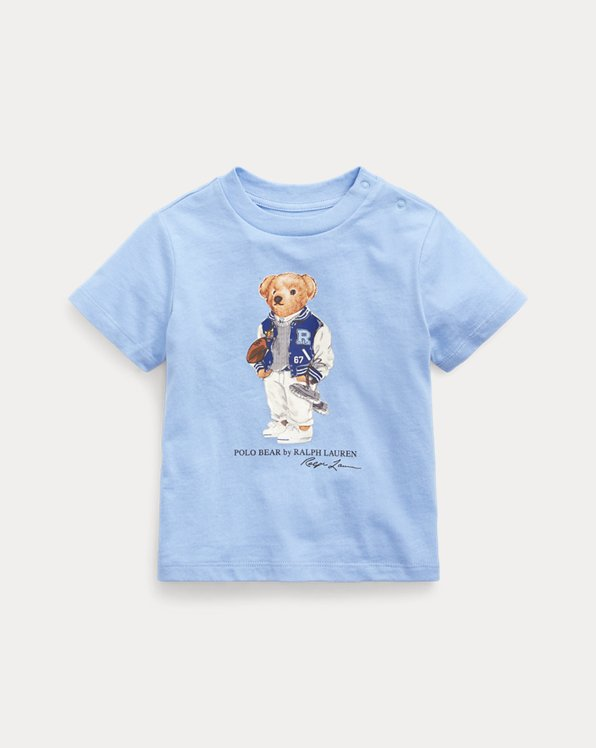 T-shirt Football Bear en coton