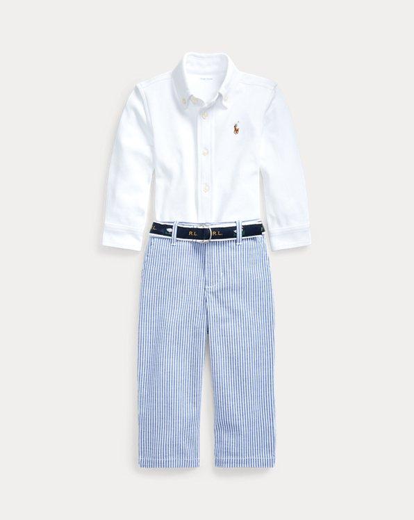 Chemise, ceinture et pantalon