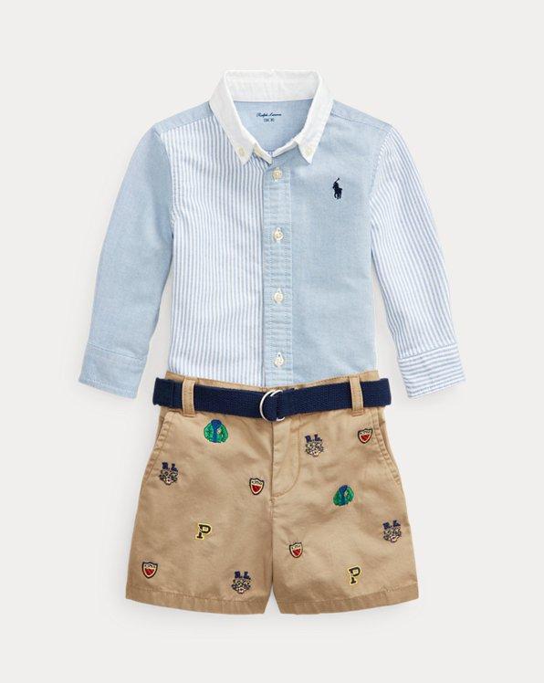 Shirt, Belt & Short Set