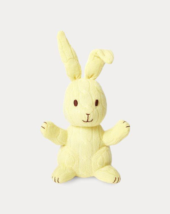 Cable-Knit Cashmere Bunny