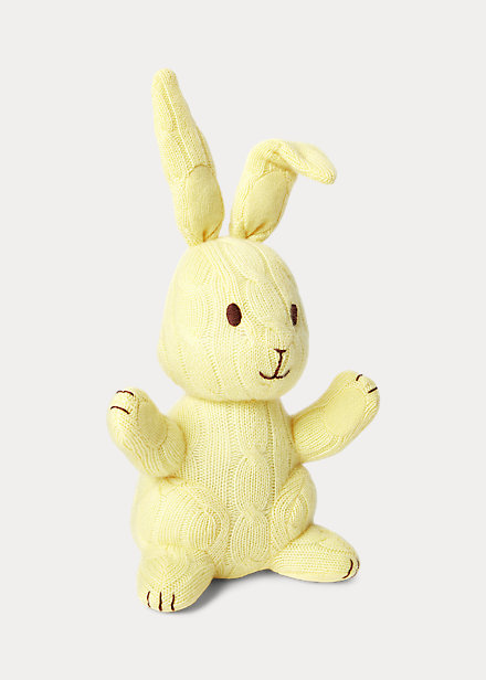 Polo Ralph Lauren Cable-Knit Cashmere Bunny