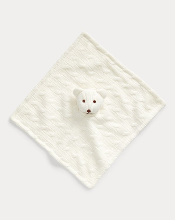 Cashmere Bear Lovey Blanket