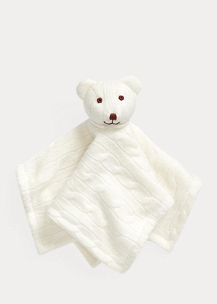 Polo RalphLauren Cashmere Bear Lovey Blanket