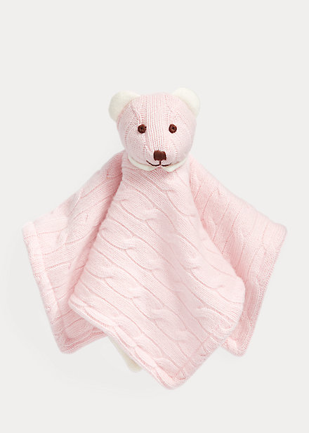 Polo Ralph Lauren Cashmere Bear Lovey Blanket