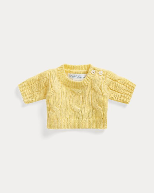 Small Polo Bear Cashmere Sweater