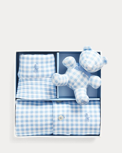 Gingham 3-Piece Gift Set