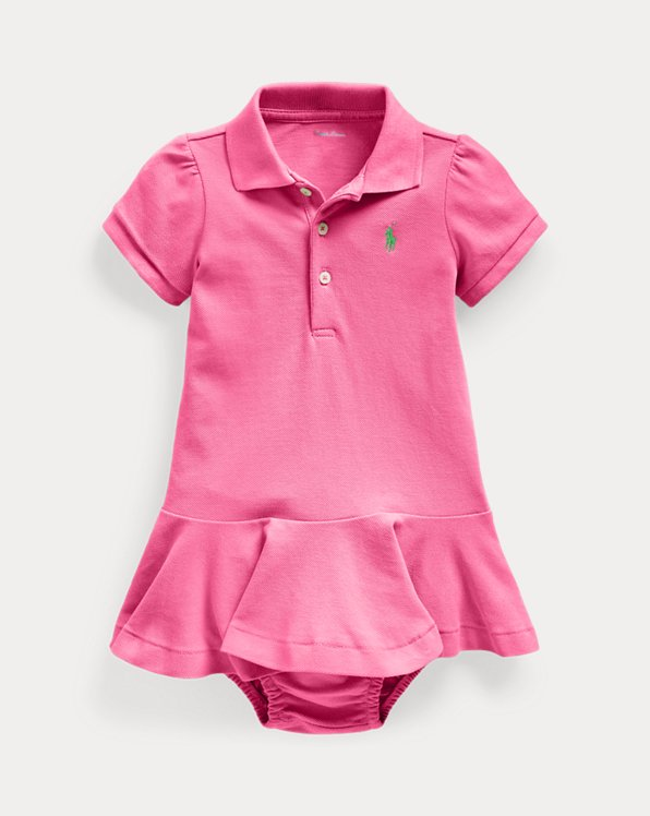 Pique Polo Dress & Bloomer