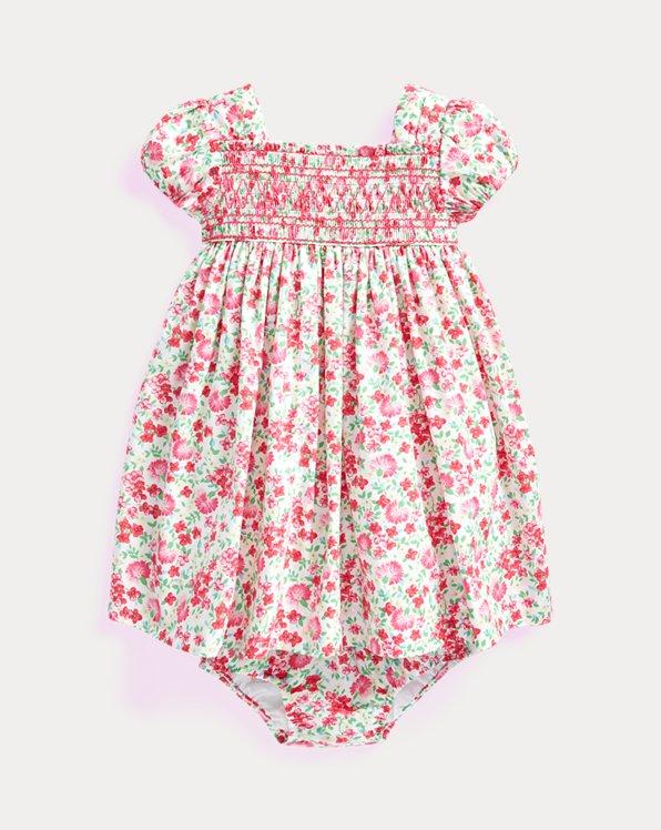 Floral Dress & Bloomer