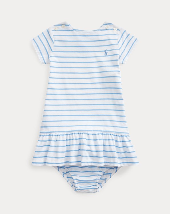 Striped Jersey Dress & Bloomer