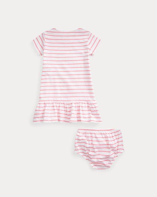 Striped Jersey Dress & Bloomer