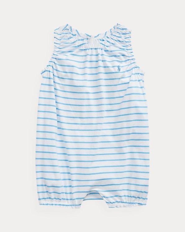 Striped Jersey Bubble Shortall