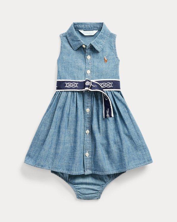Dress, Belt & Bloomer