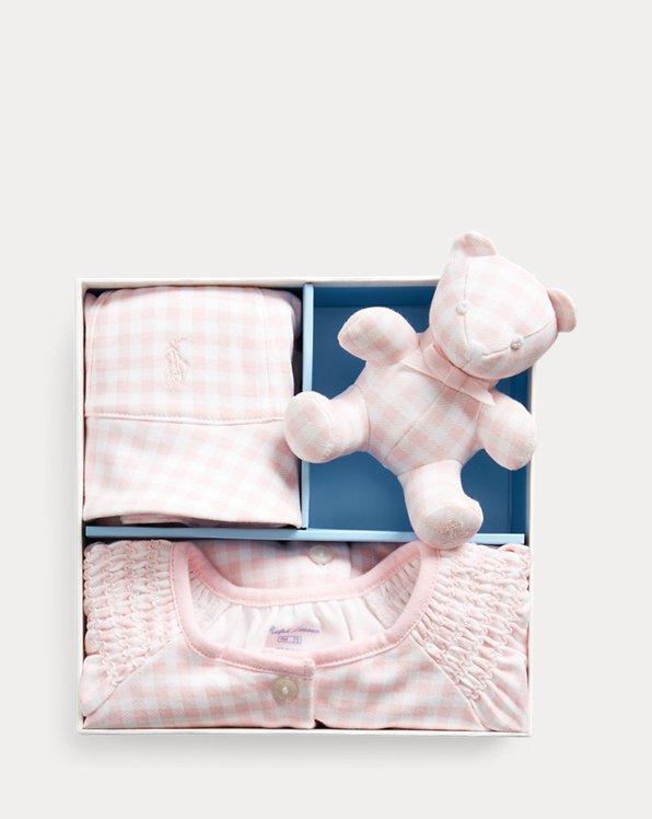 Gingham Cotton Gift Set