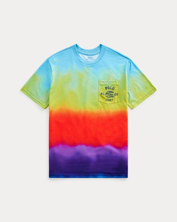 T-shirt graphique à poche en jersey