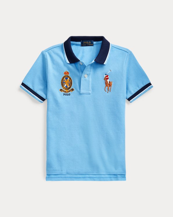 Big Pony Crest Cotton Polo