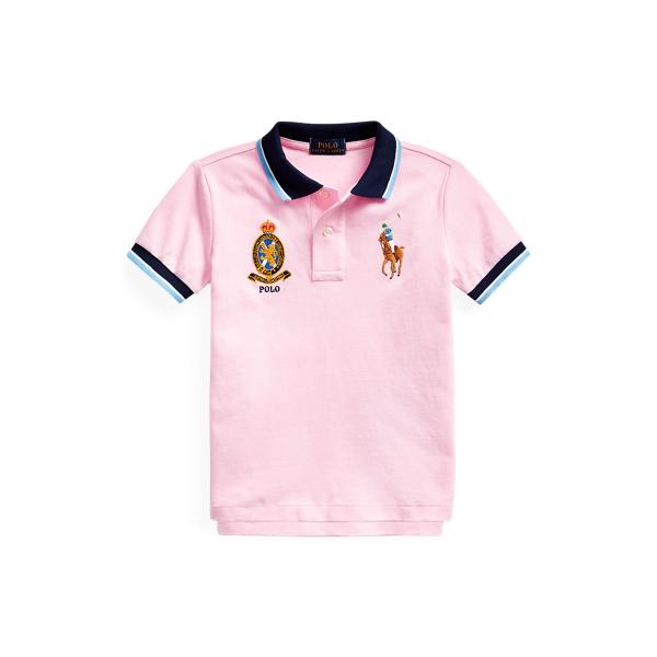 Big Pony Crest Cotton Polo