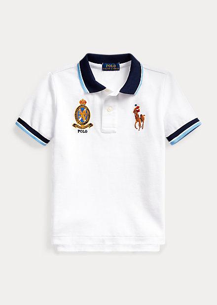 Polo Ralph Lauren Big Pony Crest Cotton Polo