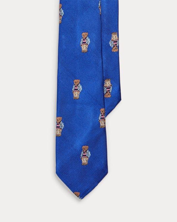 Preppy Bear Silk Tie