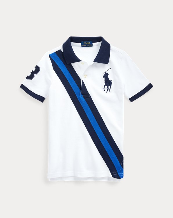 Big Pony Banner Cotton Polo