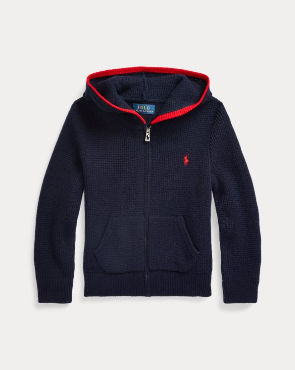 Cashmere Full-Zip Sweater