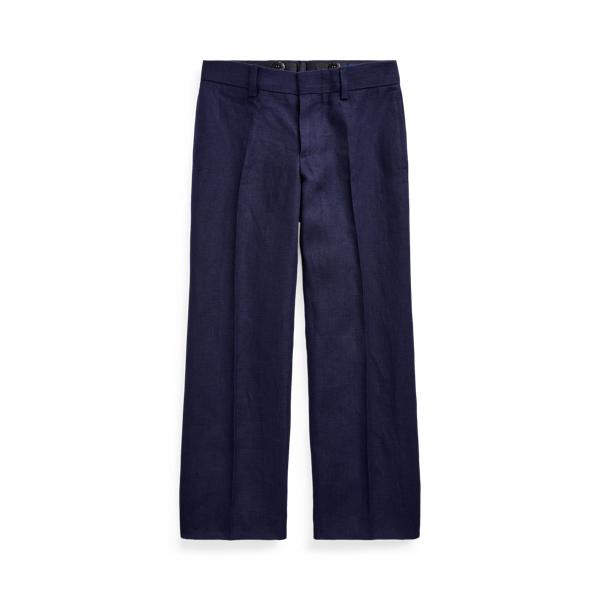 폴로 랄프로렌 남아용 팬츠 Polo Ralph Lauren Linen Suit Trouser,Newport Navy