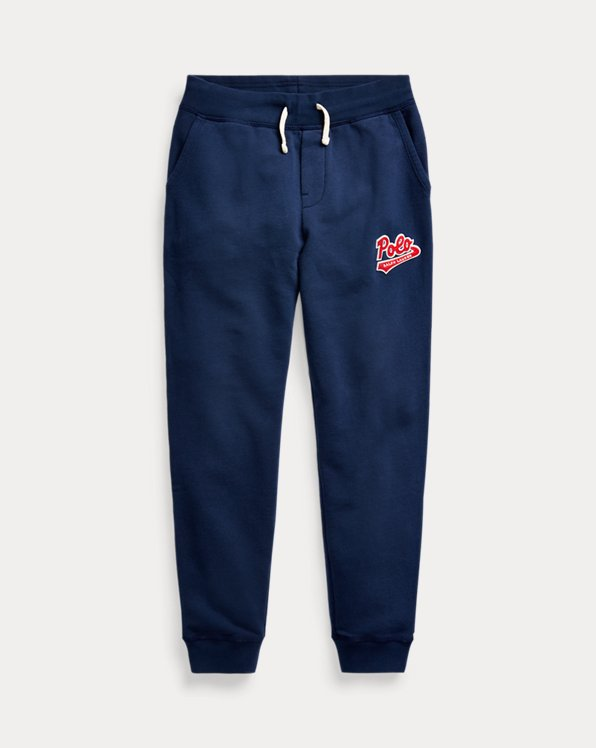 Logo-Patch French Terry Pant